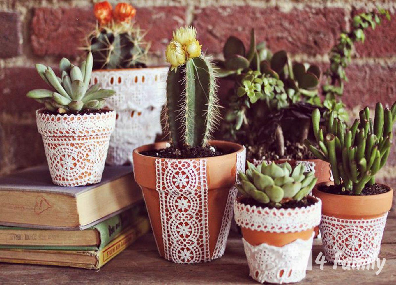4family Как сделать горшок для цветов своими руками в домашних условиях