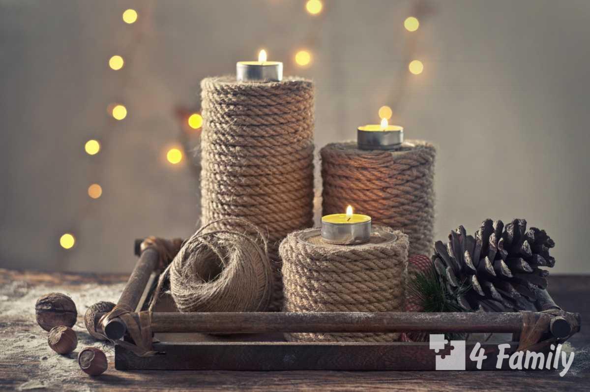 Как сделать свечку для уюта дома своими руками