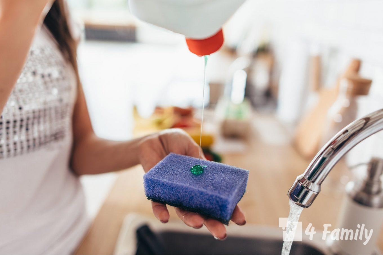 Необычные способы применения средства для мытья посуды