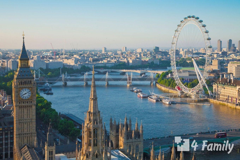4family Колесо обозрения «Лондонский глаз»