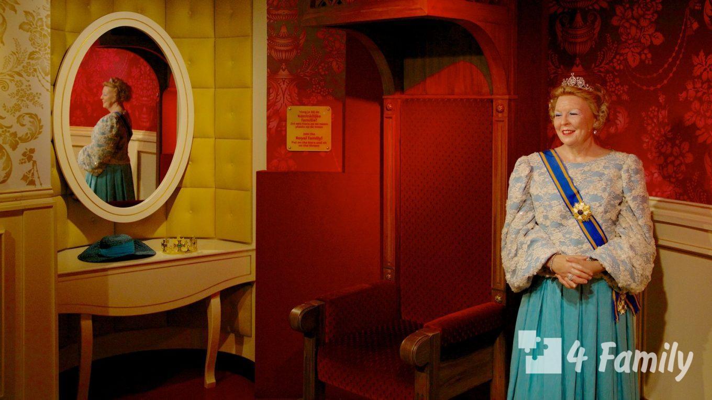 4family Музей мадам Тюссо в Лондоне