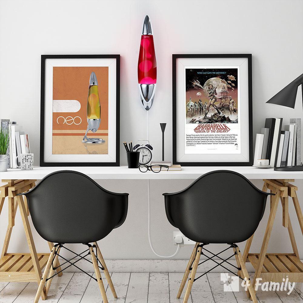 4family Как сделать стильную лава-лампу для комнаты
