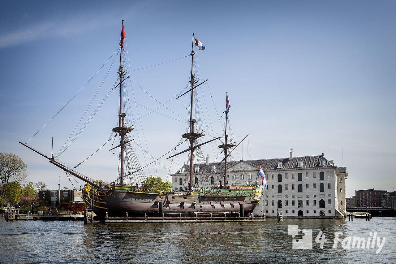 Национальный морской музей в Амстердаме