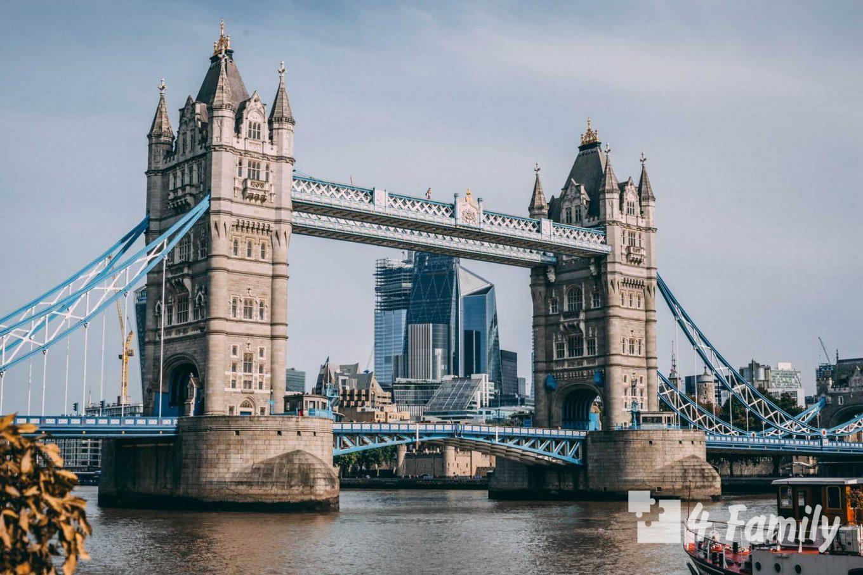 4family Тауэрский мост в Лондоне