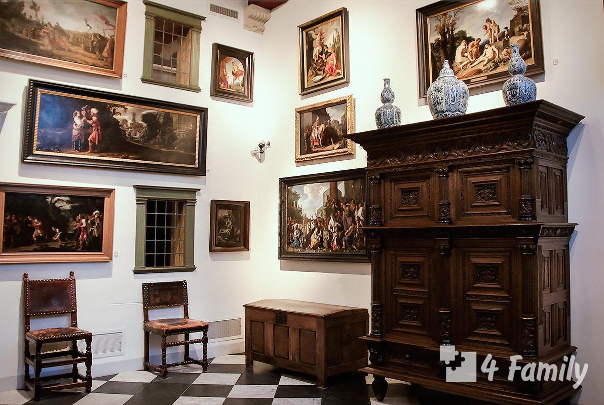 Дом музей Рембрандта в Амстердаме