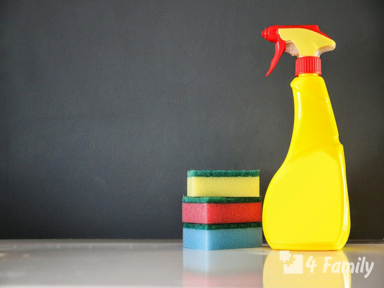 4family Самые необходимые средства для уборки