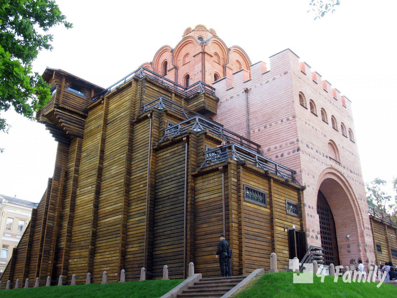 4family Золотые ворота в Киеве