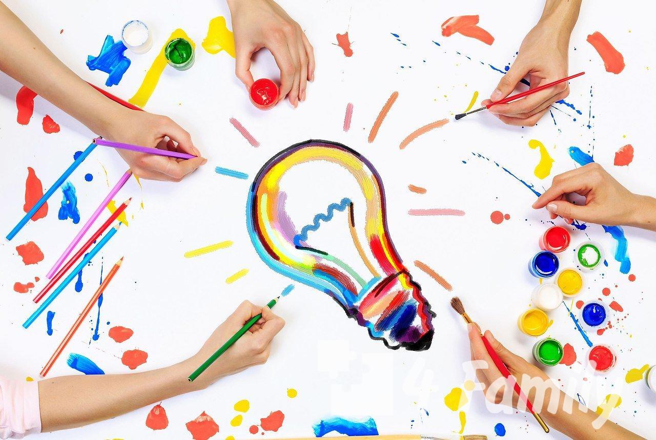 Игры и занятия для развития творчества у детей