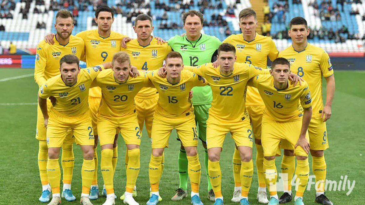 4family Сборная Украины вышла на Евро 2020, обыграв Португалию