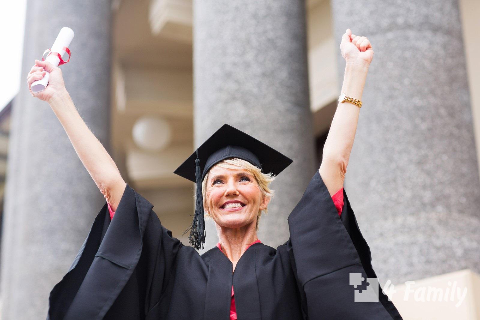 4family Нужно ли для успеха в жизни высшее образование?