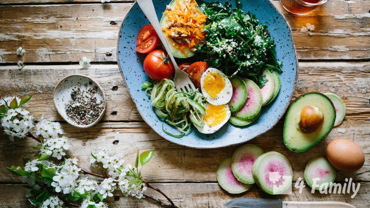4Family Полезное питание для мужчин: 7 главных правил