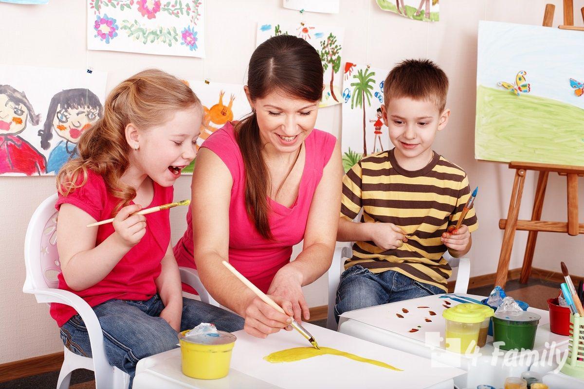 4family Занятия для детей с творческими задатками
