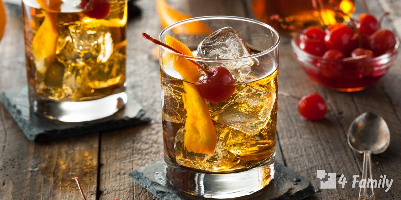 Известные коктейли на основе виски