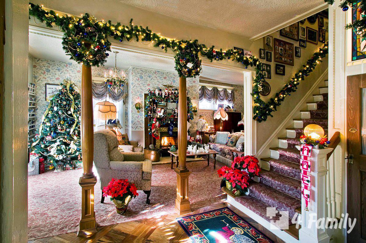 Красиво, как в кино: 9 идей для украшения дома к Новому году