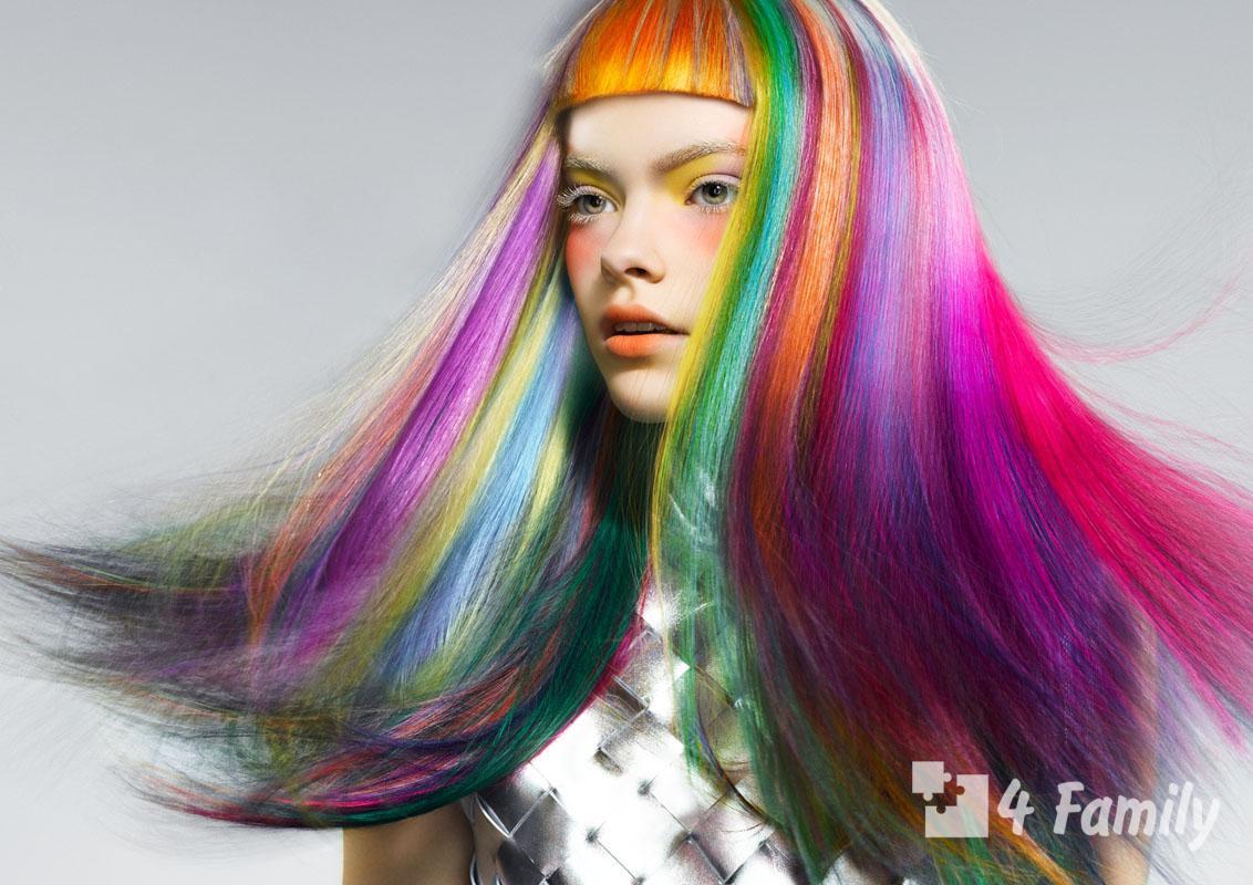 Как сохранить яркий цвет волос