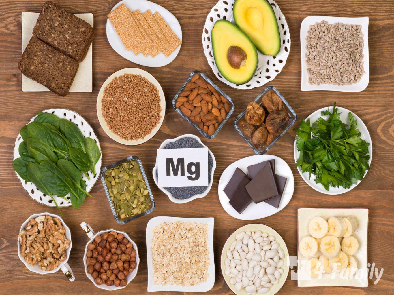 Продукты, которые обеспечат много магния в организме человека