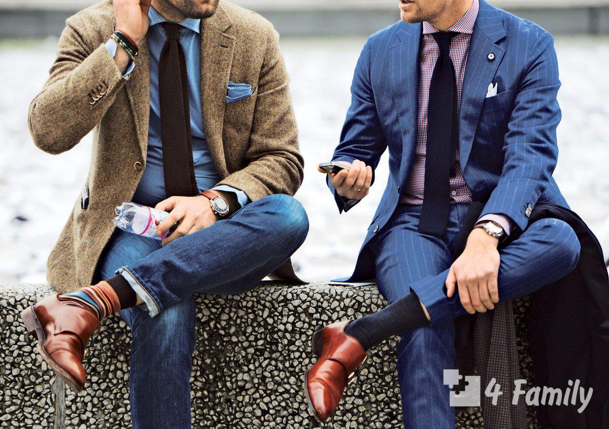 Мужской гардероб в стиле кэжуал