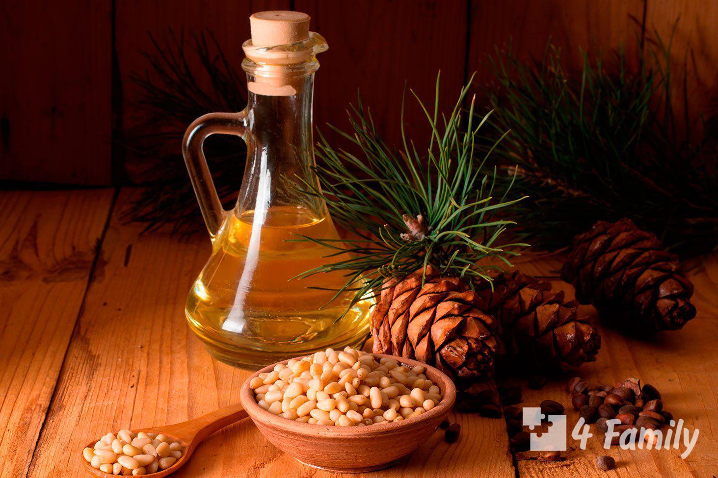 Масло кедрового ореха: полезные свойства и противопоказания