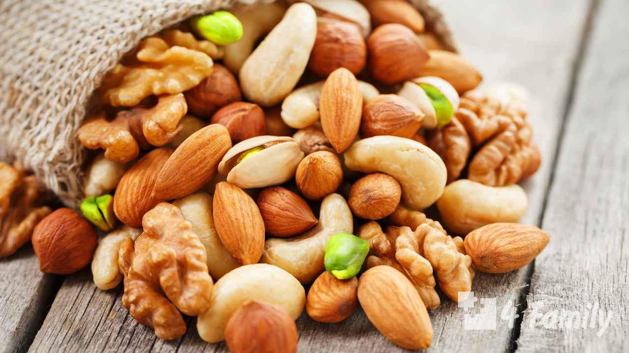 Орехи: полезные свойства и противопоказания для женщин