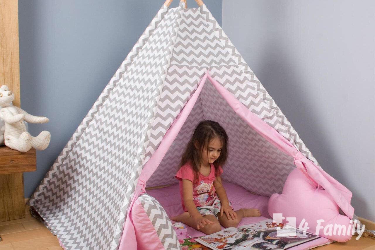 Как сделать палатку для ребенка своими руками