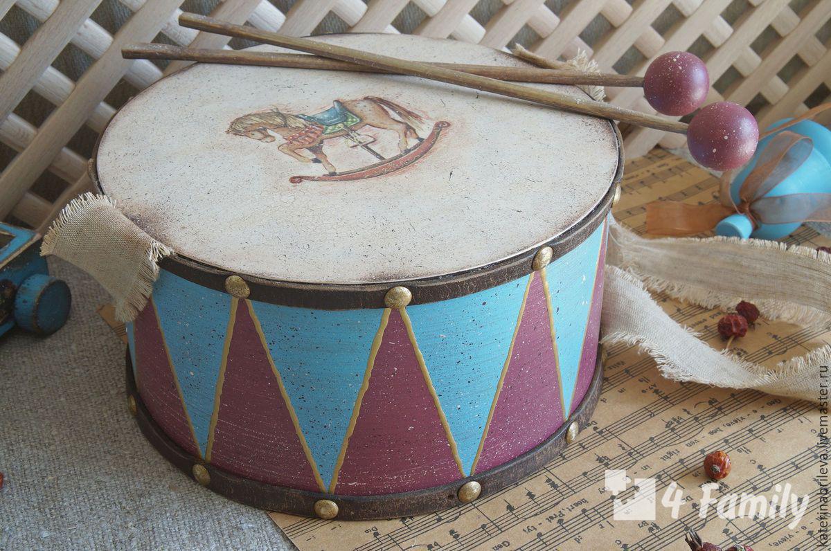 Как сделать барабан своими руками для детей