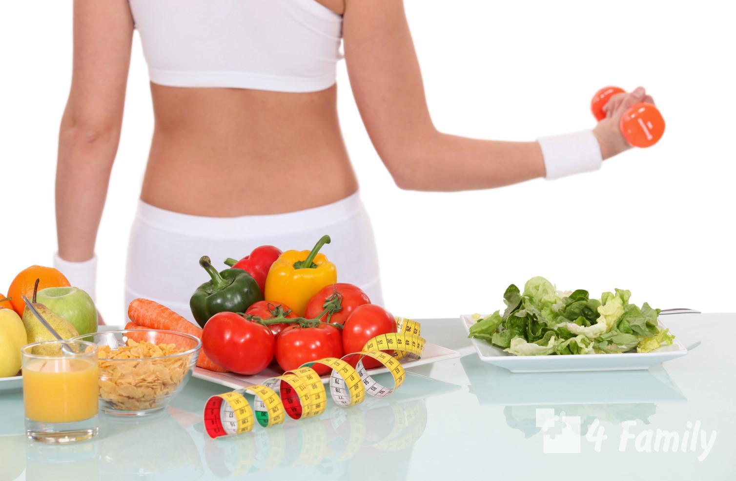Правильное питание для фитнеса у женщин