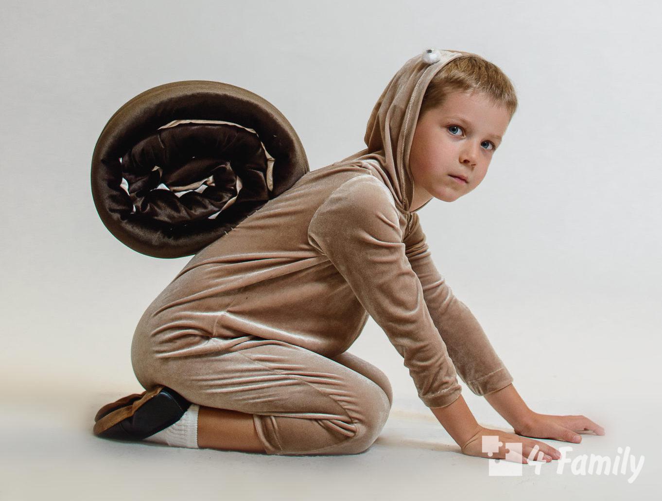 Как сделать костюм улитки для ребенка