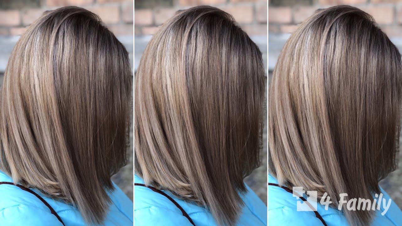 Особенности мелирования волос