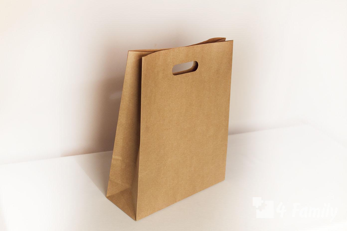 Как сделать одноразовую сумку из бумаги