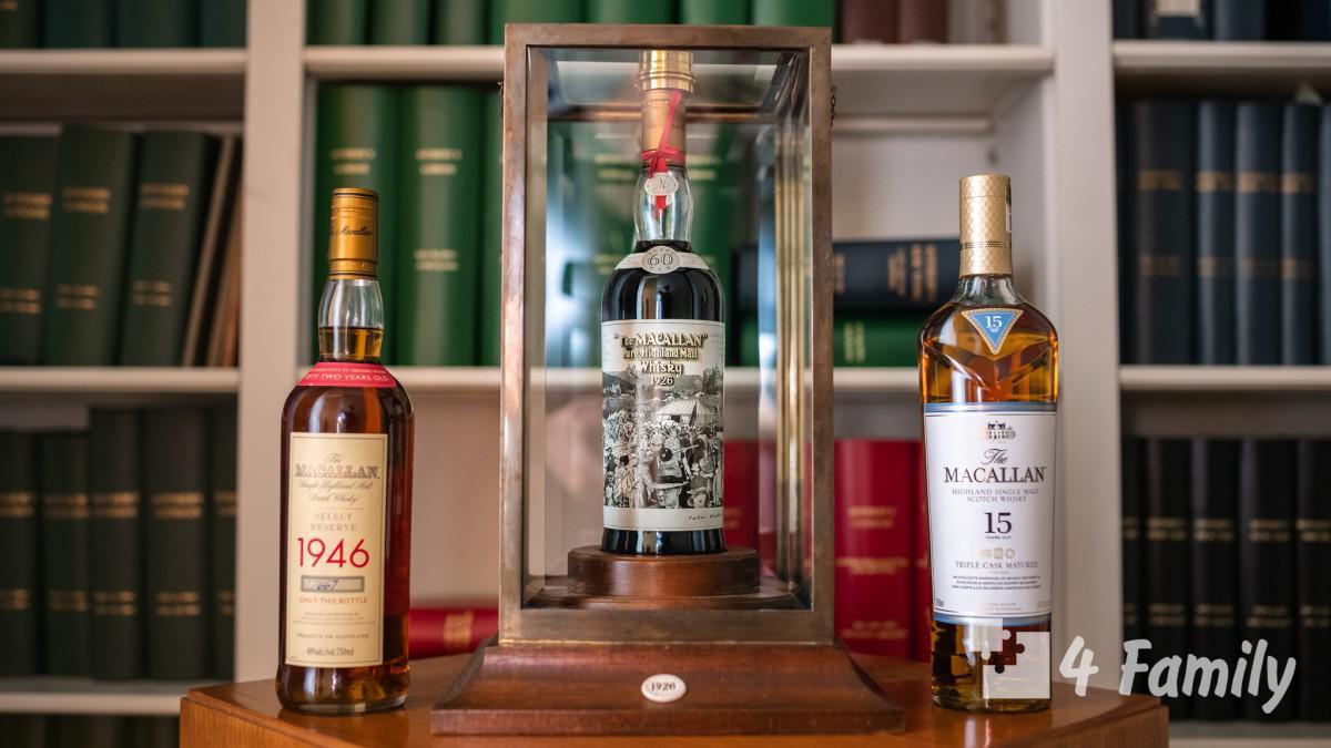 4family С чем пить виски Макаллан (Macallan)