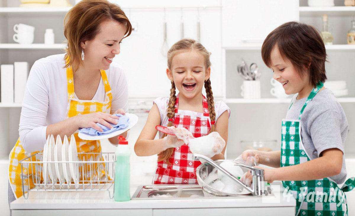 Как воспитать трудолюбие у ребенка?