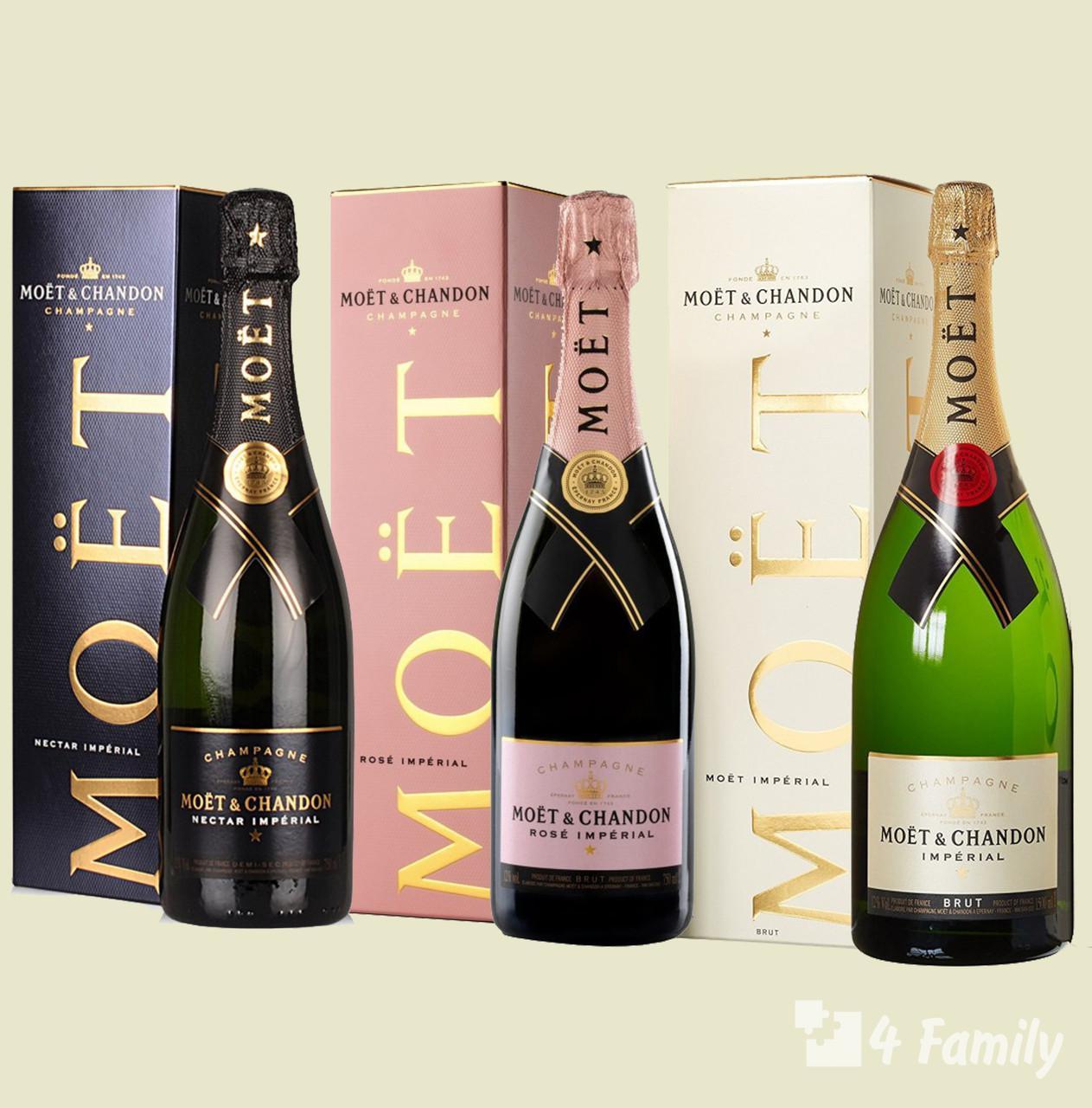4family Шампанское Моет Шандон