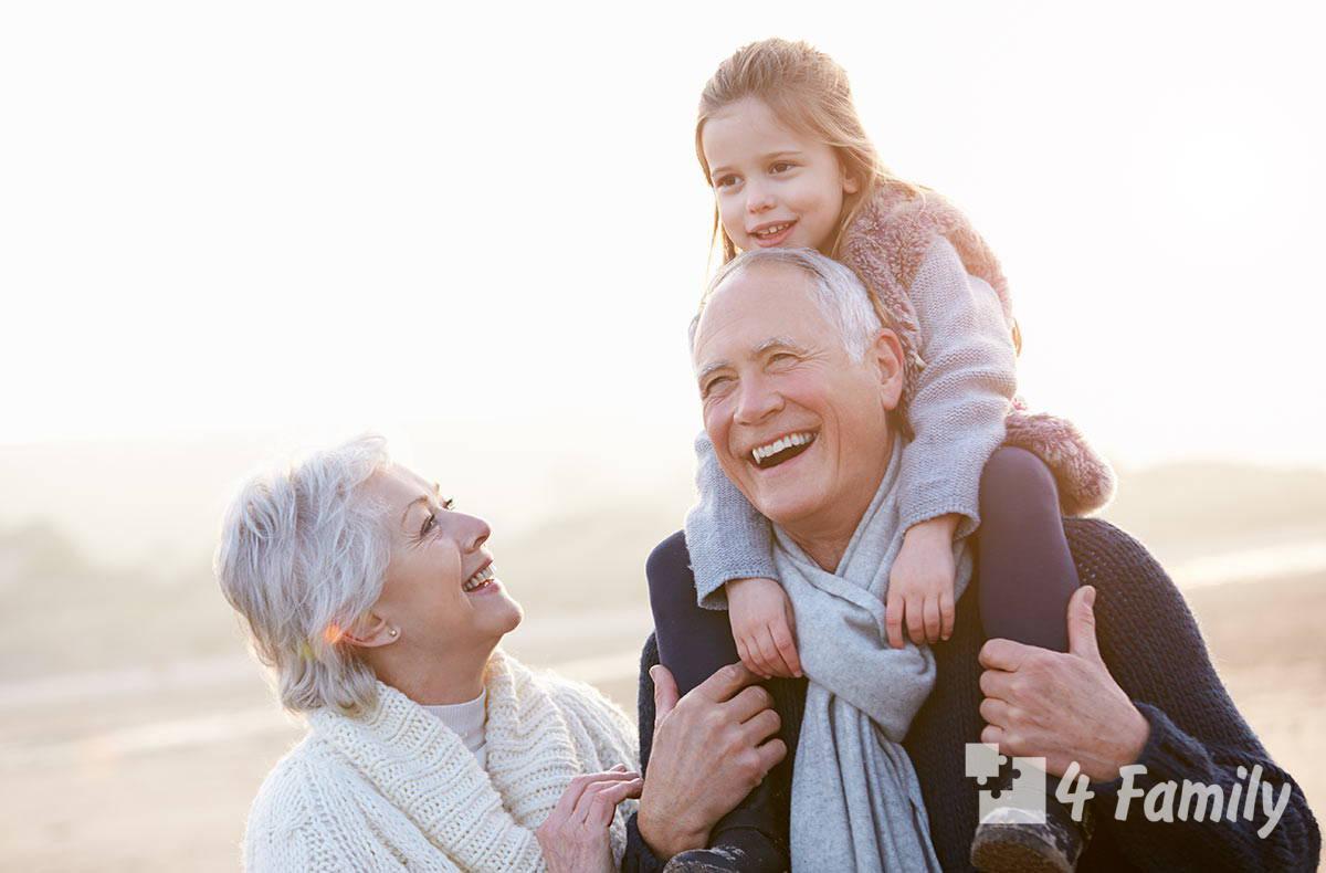 4family Как выражается любовь бабушки к своему внуку