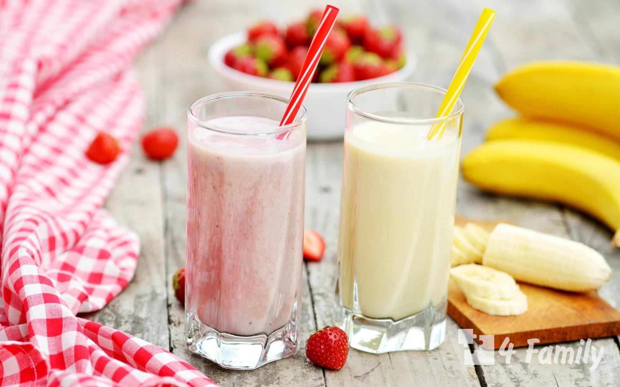 4family Как приготовить молочный коктейль в домашних условиях
