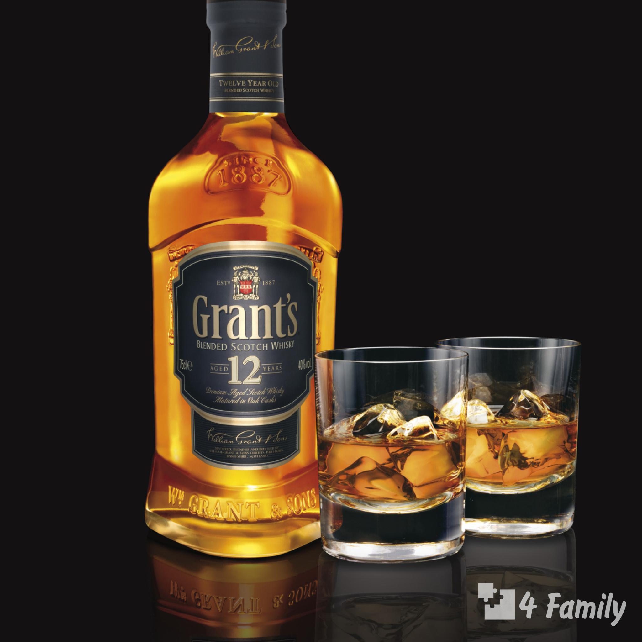 4family С чем пить виски Грантс (Grant's)