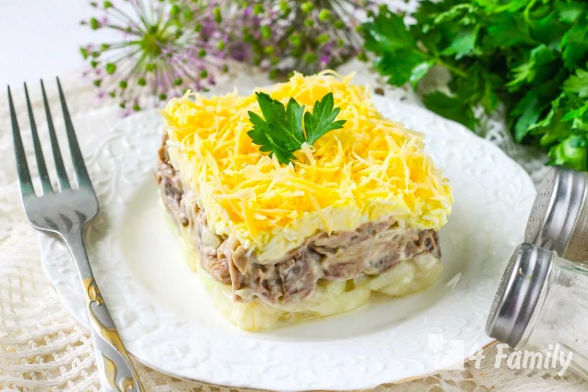 Как приготовить салат «Нежность» с куриными яйцами