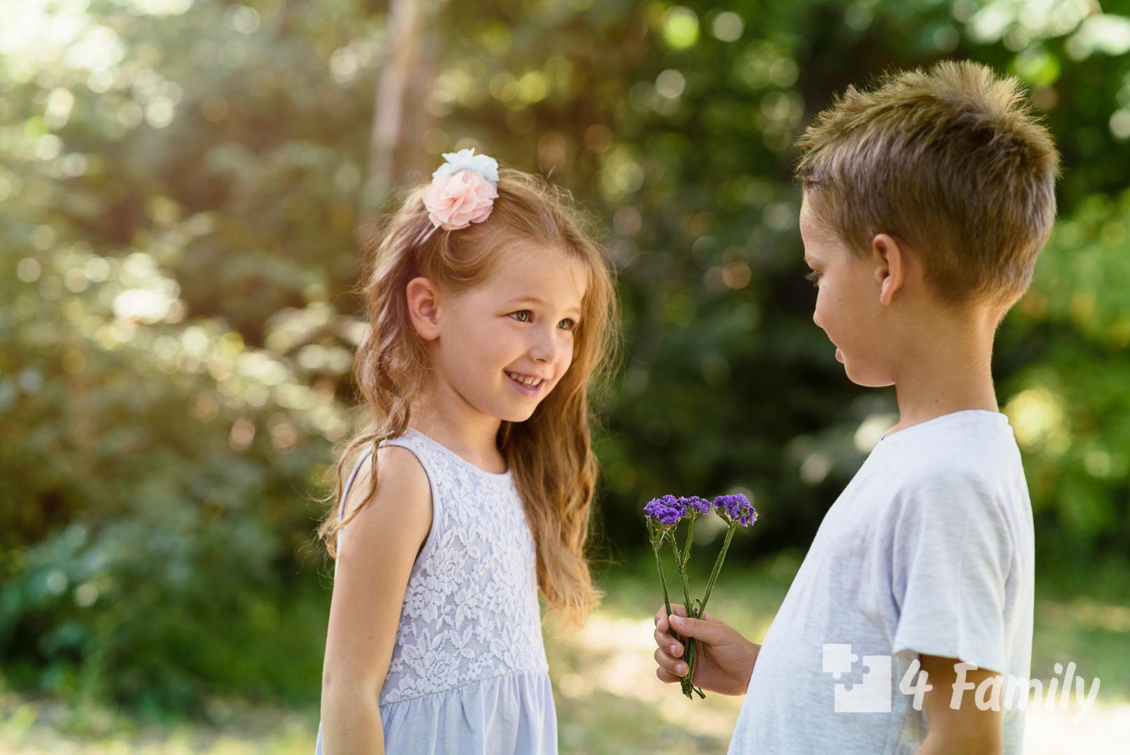 Разговоры с детьми о любви и семье