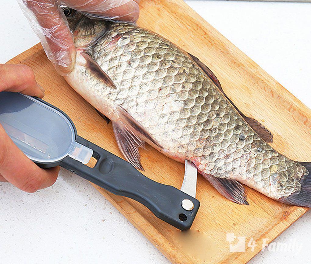 4family Как выбрать нож для чистки рыбы