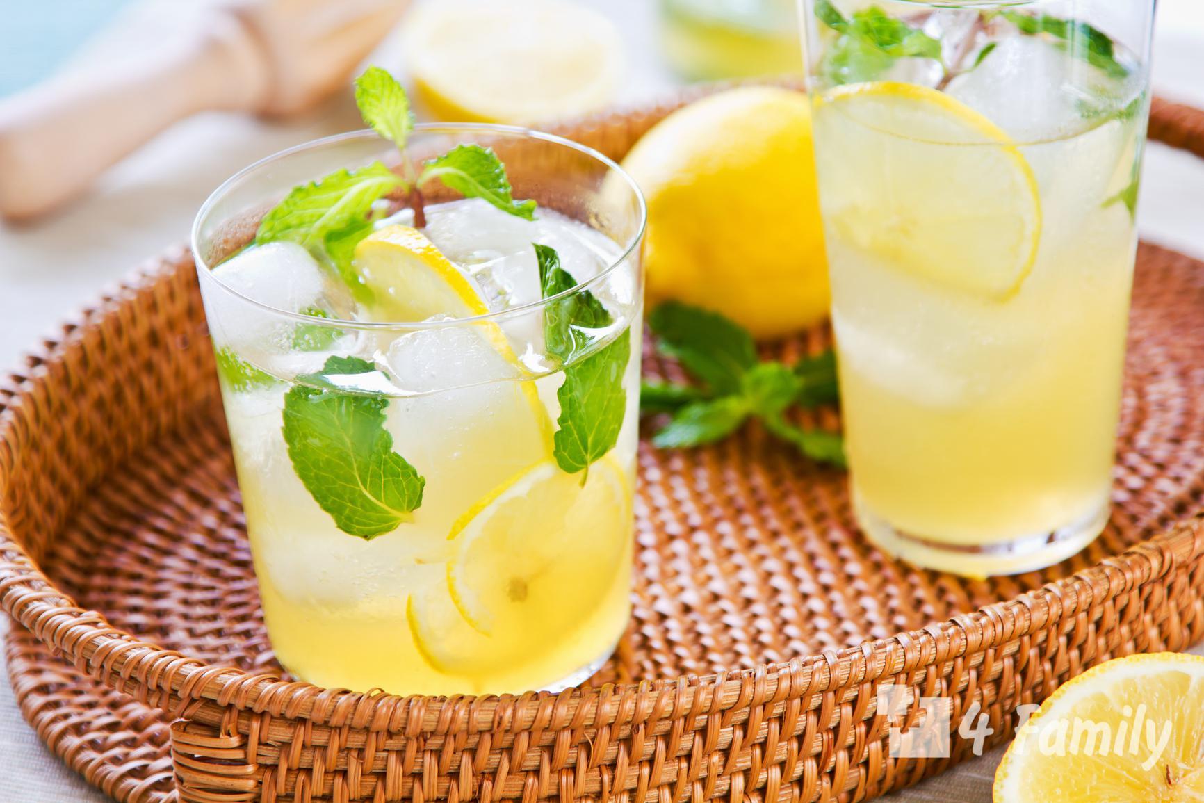 4family Как приготовить лимонад