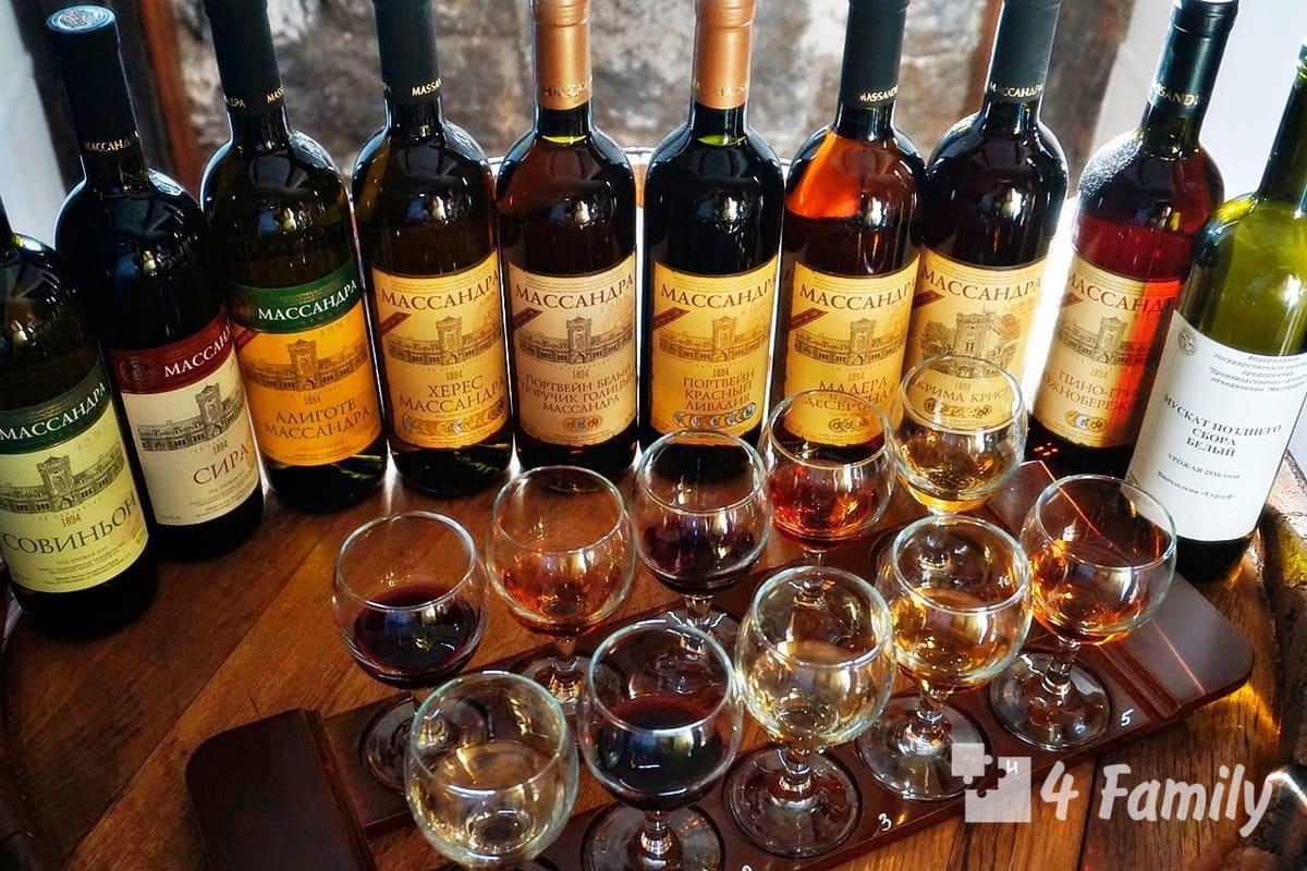Как выбрать массандровские вина