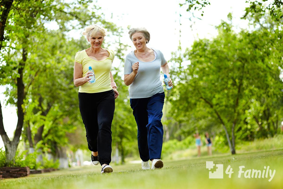Как вести здоровый образ жизни женщине 50 лет