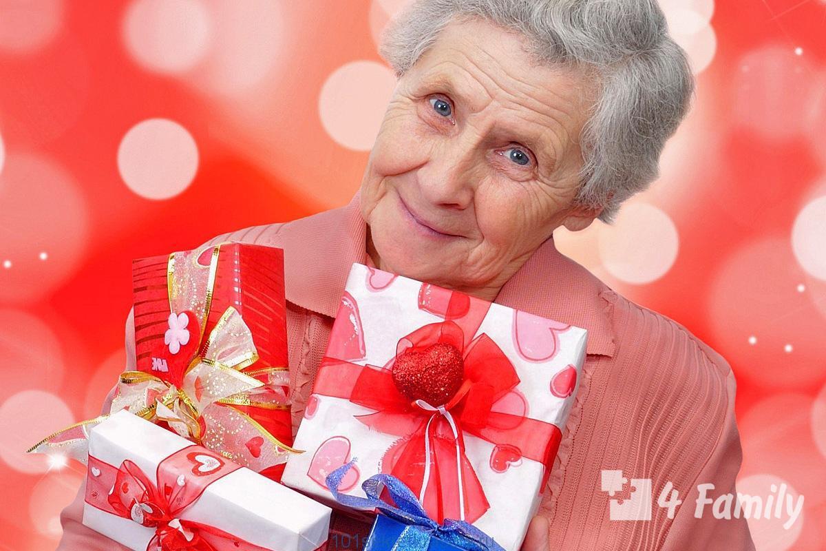 4family Что подарить бабушке на день рождения