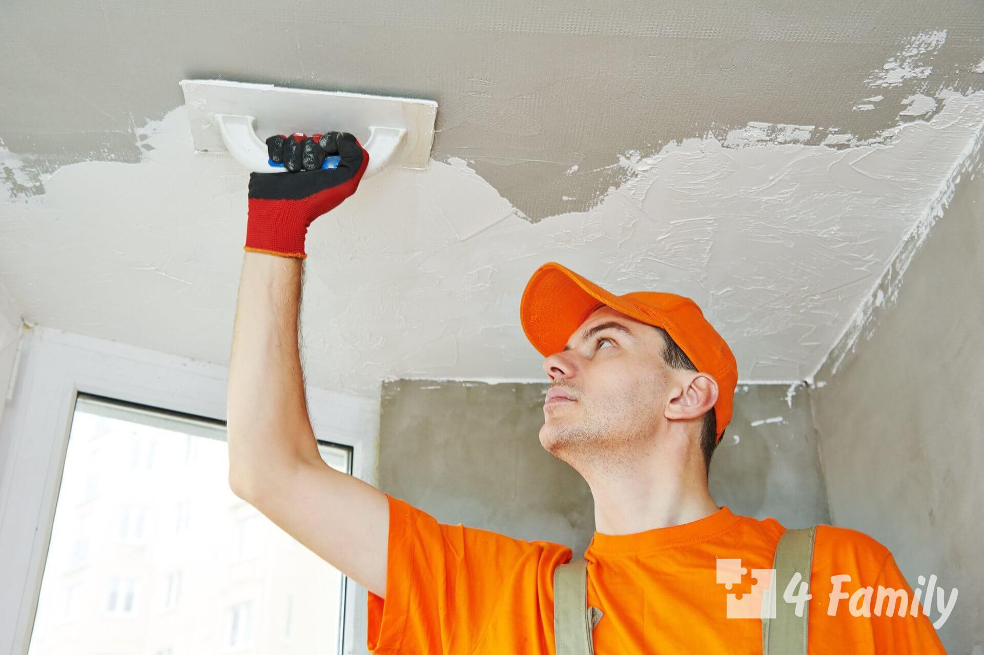 Как сделать ремонт потолка своими руками