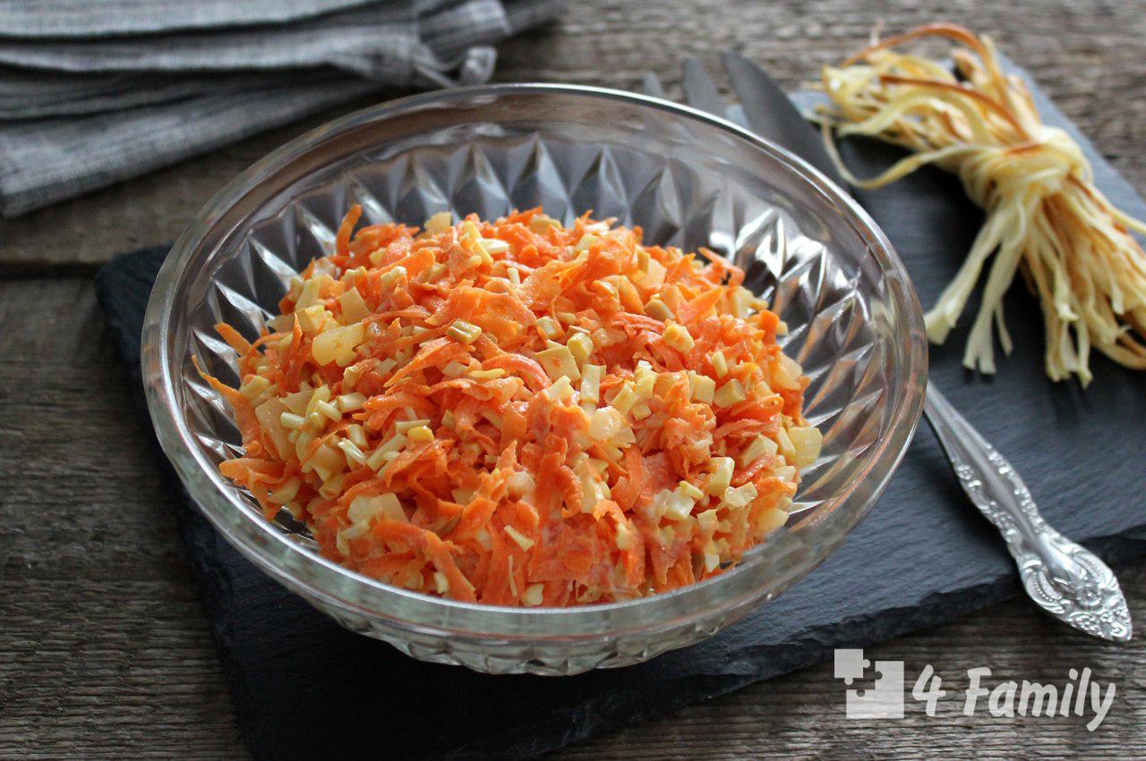 Как сделать салат из свежей моркови