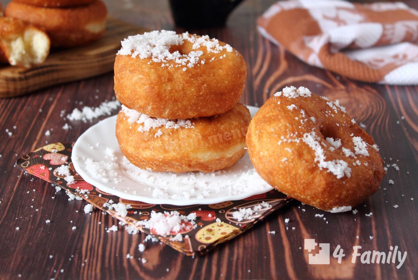 4family Как сделать пончики в домашних условиях