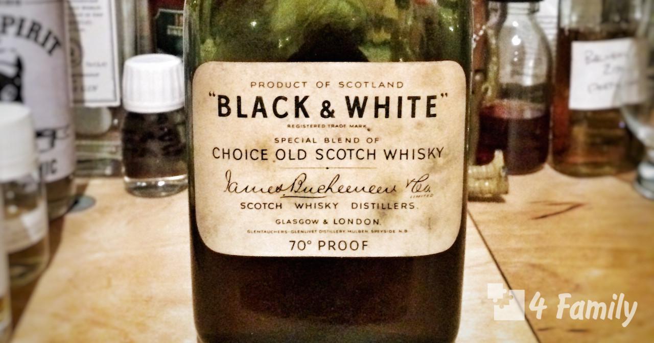 4family Как пить Виски Блэк Вайт