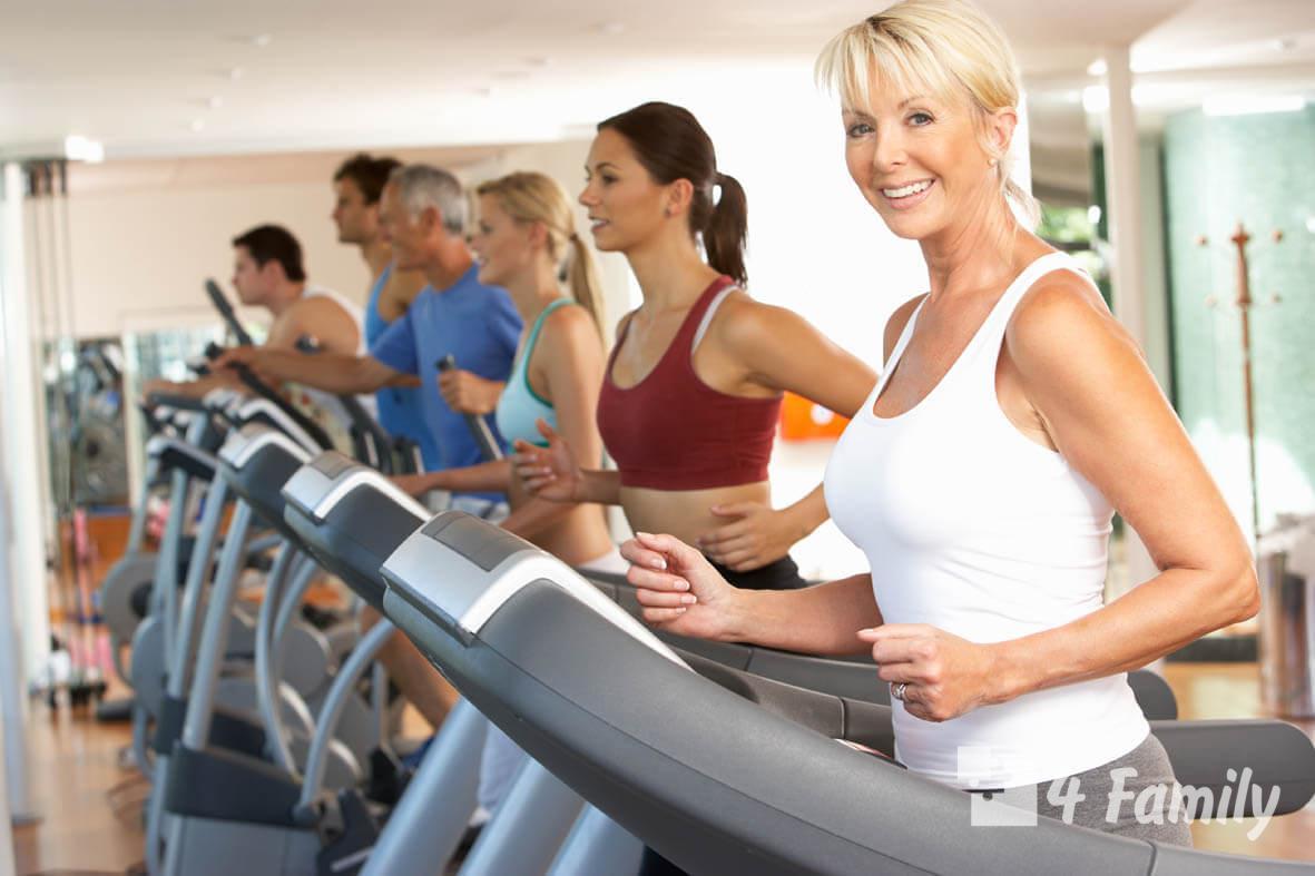Здоровый образ жизни женщины после 40