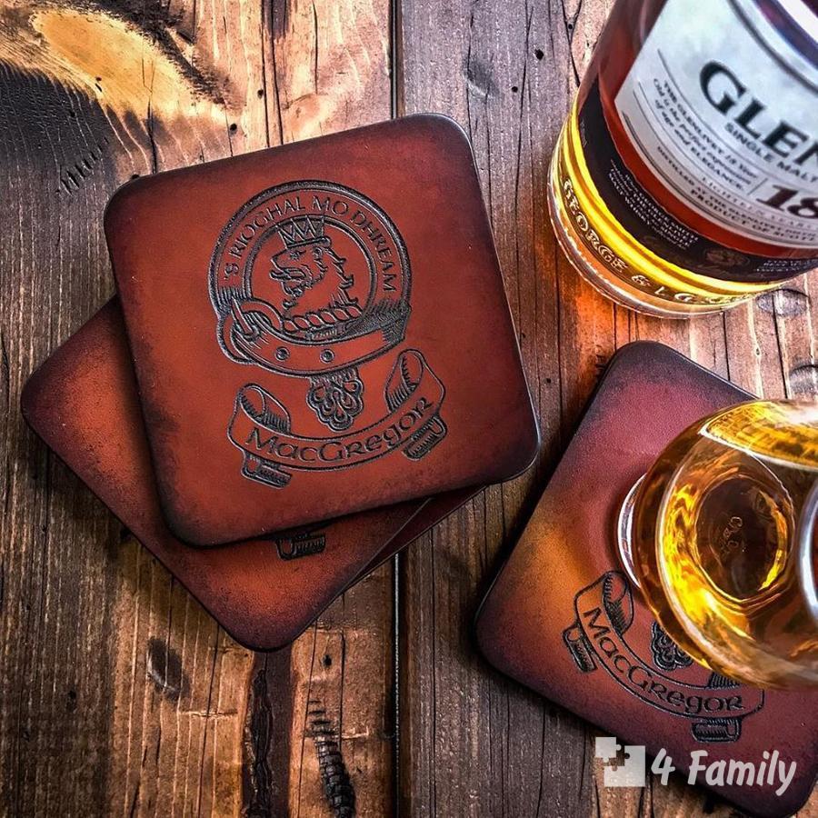 4family Как пить и с чем пить Виски Клан Мак Грегор (Clan MacGregor)