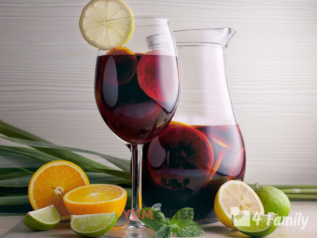 Вино сангрия в домашних условиях