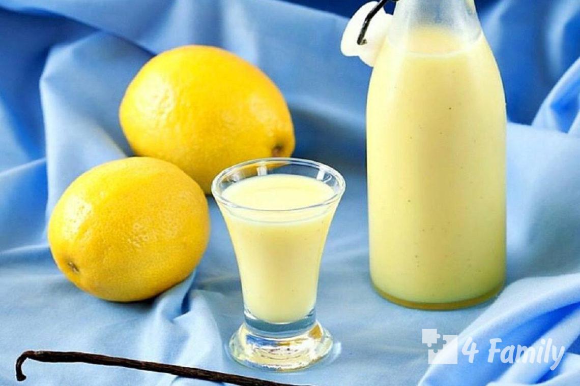 Как сделать лимонный ликер в домашних условиях